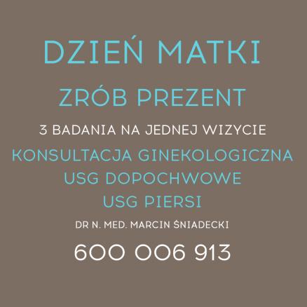 Badania ginekologiczne Gdańsk
