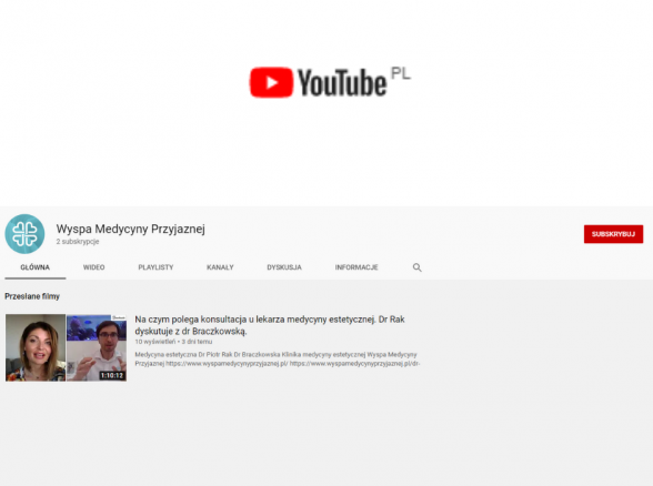 Wyspa Medycyny przyjaznej na Youtube